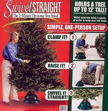 swivel tree stand decor
