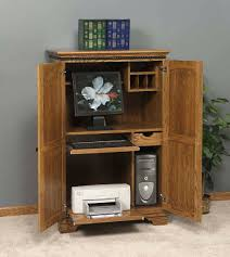 Sauder Computer Desk Armoire by Armoire For Bedroom Brush Maple Sauder Computer Chest Of Drawers