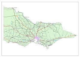 Portland Australia Map by Victoria