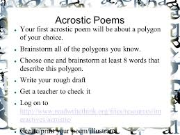 acrostic thanksgiving poem poetry mrs leary u0027s 5 th grade class poetry project ppt download