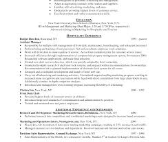 resume exle for receptionist amazing hotel resume sles chef sle australia identify and