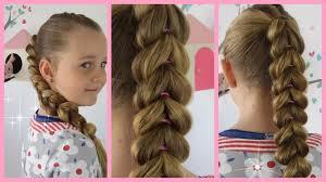 Frisuren Lange Haare F Kinder by Durchgezogener Zopf Besser Als Flechten Frisur Für Mädchen