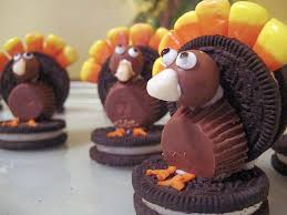 edible thanksgiving crafts to do with grandchildren oreos