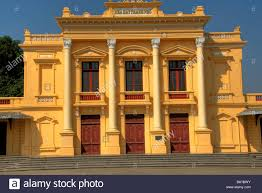 the colonial style architecture opera house in haiphong vietnam