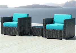 Most Comfortable Sectional Sofa by Most Comfortable Sectionals Luxxella Bistro 3pc Sunbrella Outdoor