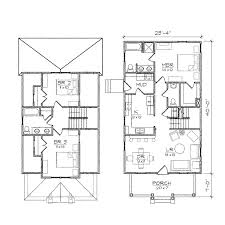 ashleigh ii bungalow floor plan tightlines designs 2 story small