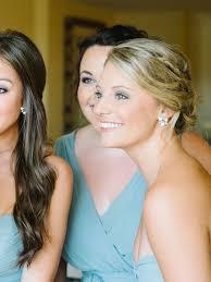 simple bridal hairstyle 15 pretty bridesmaid hairstyle ideas