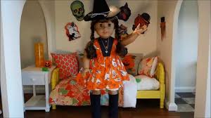 doll halloween costumes my dolloween american doll costumes for 2014 halloween youtube