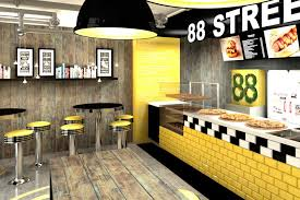 88th street fast food bar by forbis group cracow u2013 poland retail