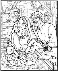 nativity coloring pages homeschool ideas bible