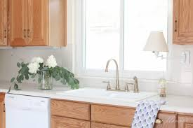 how to modernize honey oak cabinets updating a kitchen with oak cabinets without painting them