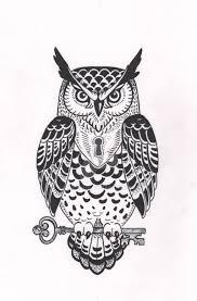 owl tattoo design by verreaux on deviantart