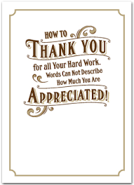 employee appreciation cards business greeting cards