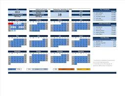 calendar for excel free printable templates agenda microsoft