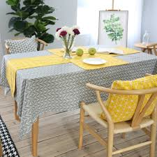aliexpress com buy rubihome square table cloth printed modern