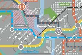 Washington Dc Metro Rail Map by Here U0027s The Mindblowing La Rail Map Of The Future From Her Curbed La