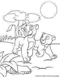 lion circus animals coloring page with pages eson me