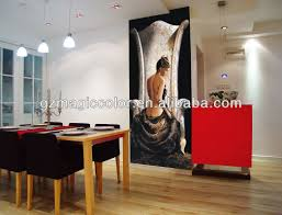 indian stely oil painting wallpaper murals for home view elegant