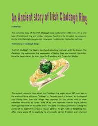 claddagh ring story the ancient history of claddagh ring that you should by