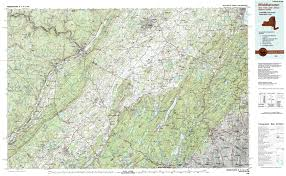 East New York Map by New York Topo Maps Topographic Maps 1 100 000