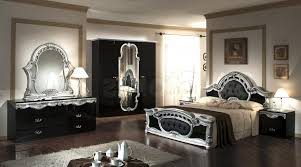 Silver Mirrored Bedroom Furniture by Black And Silver Bedroom Set 5 Desktop Background