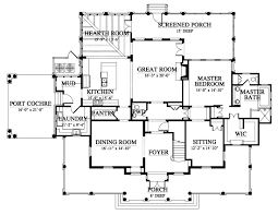 newberry park 163176 house plan 163176 design from allison second floor plan 2459 sq ft elevation third floor plan