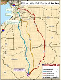 Buffalo State Map by Alternate Routes From Buffalo Ellicottville Ny Chamber Of