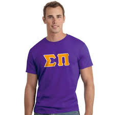 sigma pi letter t shirt greek clothing and gear