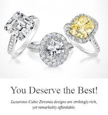 best cubic zirconia engagement rings high quality cubic zirconia jewelry cubic zirconia rings and more
