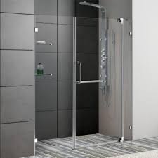 vigo vg6042 60 66 frameless shower door 3 8 tempered glass