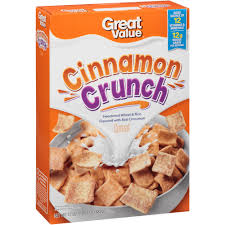 Breakfast Food Cereal Walmart Com by Great Value Cinnamon Crunch Cereal 17 Oz Walmart Com