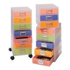 cassettiere ufficio cassettiera jolly niji multicolor semitrasparente 3 cassetti