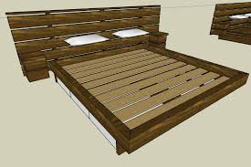 Free Plans To Build A Platform Bed by 29 Creative Platform Bed Design U2013 Voqalmedia Com