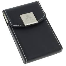Desk Business Card Holder For Men Your Logo On Business Card Holders And Cases At 4imprint Office