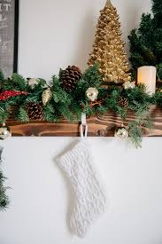How To Decorate A Mantel For Christmas Fireplace Mantel Makeover And Holiday Decorations
