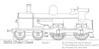 drawings of gwr locomotives