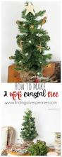 how to create a mini coastal christmas tree finding silver pennies