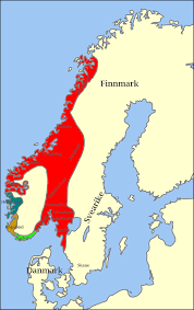 Map Of Norway Unification Of Norway Wikipedia