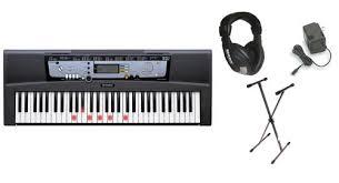 yamaha keyboard lighted keys amazon com yamaha ez 200 61 full sized touch sensitive lighted