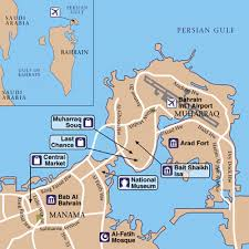 map of bahrain bahrain international airport airport maps maps and directions