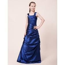 floor length chiffon junior bridesmaid dress blushing pink a