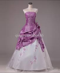 purple red wedding dresses wedding outlet dresses bridesmaid