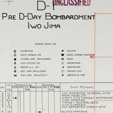 Iwo Jima On World Map by Wwii Naval Gunnery Plan Of Iwo Jima 1945 Battlemaps Us