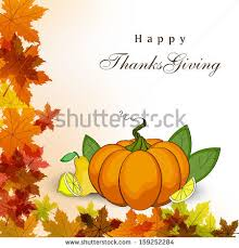 happy thanksgiving day concept blank tag stock vector 159252284
