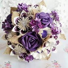 paper flower bouquet paper wedding bouquet origami flower bridal alternative uk