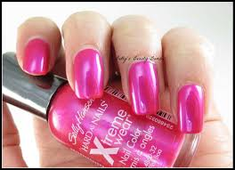 sally hansen pink boa and bundle monster stamping polish lazy betty