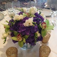 Purple Centerpieces Wedding Beautiful Deluxe Simple Purple Violet Wedding Centerpiece