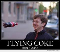 Coke Meme - flying coke by rrstyle meme center