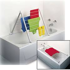 folding tub drying rack in laundry drying racks