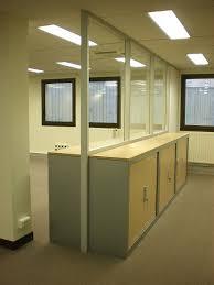 bureau vitre cloison modulaire vitrée cloison de bureau en verre cloison